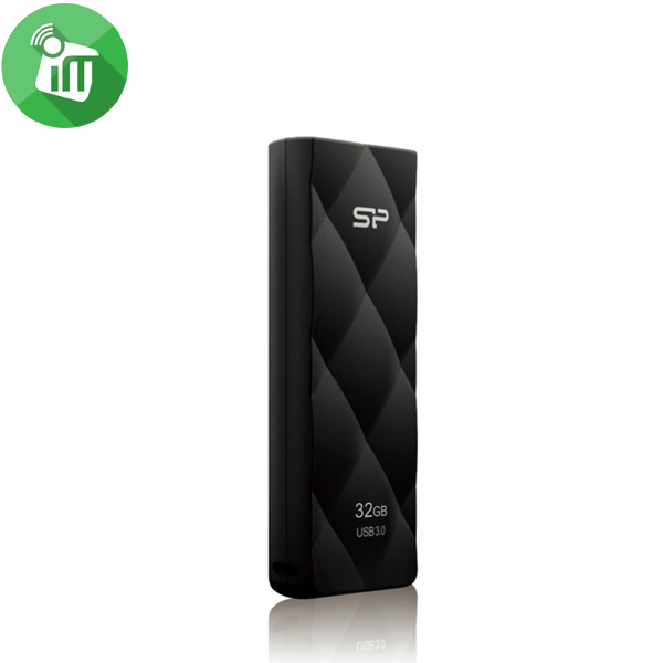 Silicon Power Blaze B20 32GB Slide USB 3.1 Flash Drive