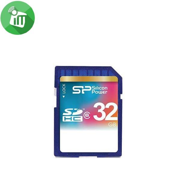 Silicon Power Video HD SDHC Class 6 Flash Memory Card 32GB