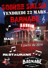 soirée 22 mars Barnabé Danse Salsa