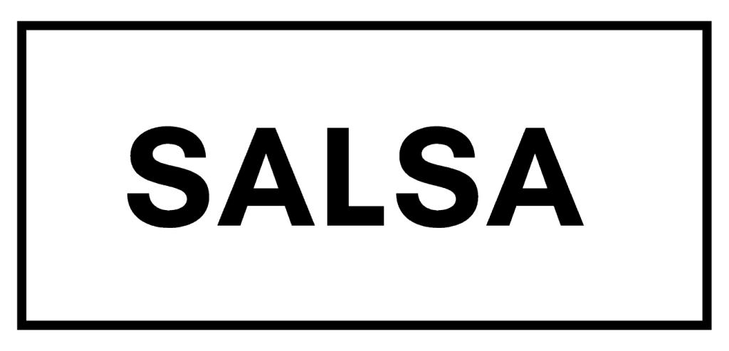 Salsa dance banner
