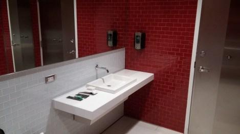 Terminal E shower room