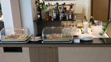 Food and beverages BKK Skyteam lounge