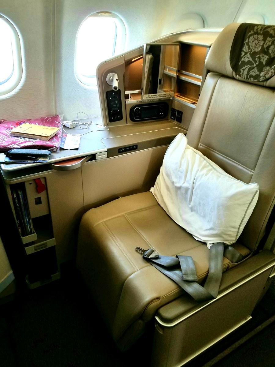 Sleek New China Eastern A330 300 Business Class Seat
