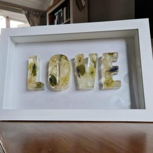 LOVE Framed