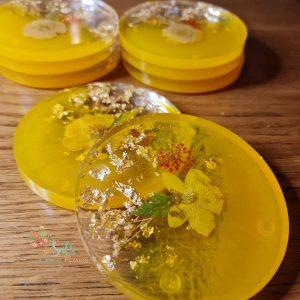 Flower Preservation Coasters