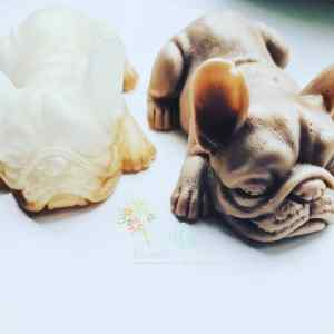 Frenchie dog paperweight/ornament