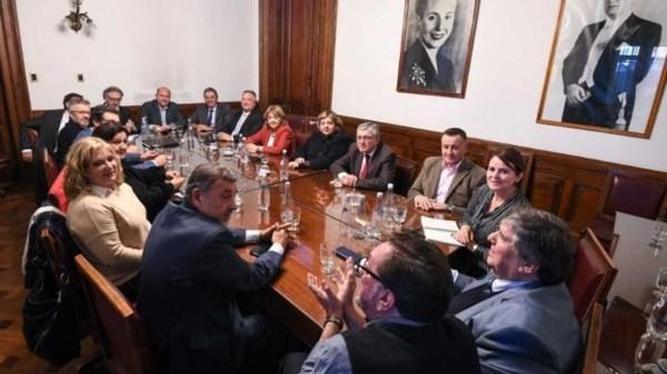 Caserio será el reemplazante de Pichetto para presidir el PJ en el Senado - Fuente: Twitter.
