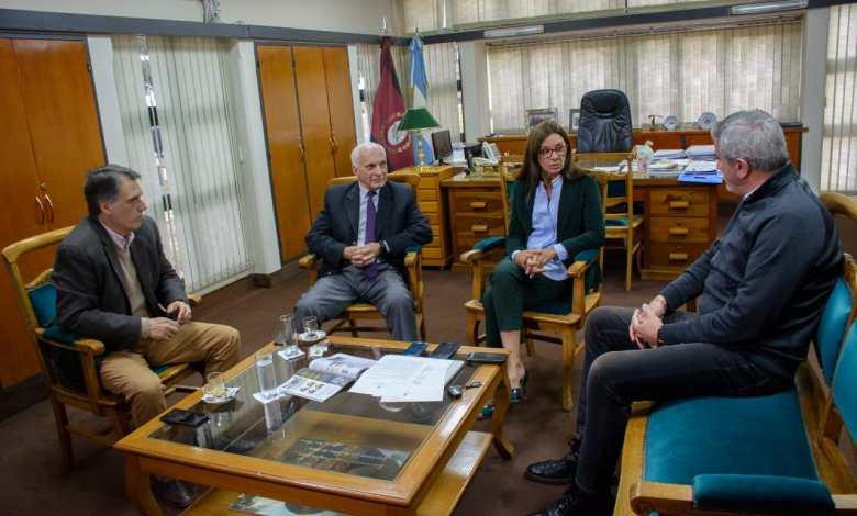 Kosiner, Arias, Berruezo y Zottos Fuente: Gobierno de Salta.