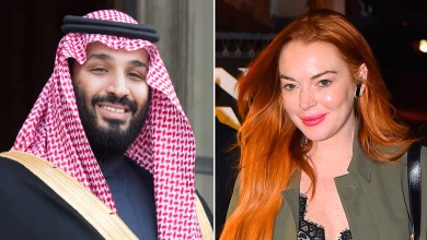 Photo of La misteriosa amistad entre Lindsay Lohan y el príncipe heredero de Arabia Saudita