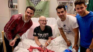 Photo of Emotivo: así sorprendieron los Jonas Brothers a una fanática que sufre de cáncer
