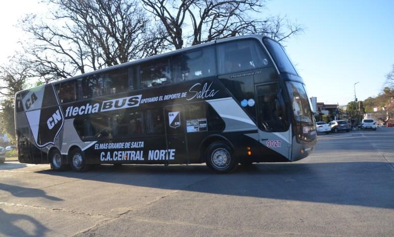 Colectivo Central Norte- Fuente Salta 4400