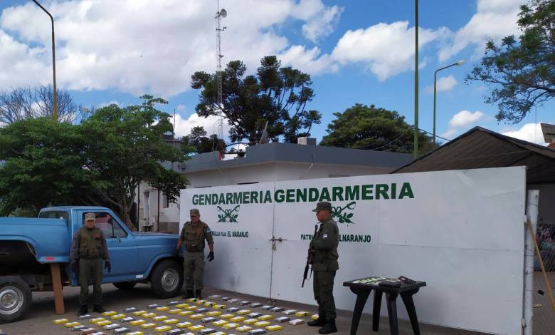 Operativo Narcotráfico - Fuente: Prensa Gendarmeria