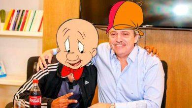 Photo of Los memes de Alberto Fernández y Bugs Bunny que estallaron las redes