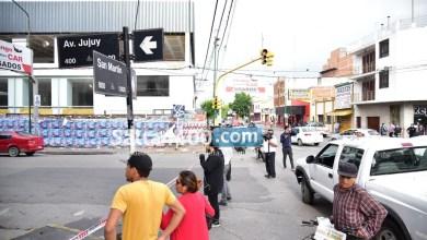 Photo of Pegatineros se enfrentaron en la capital