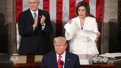 Photo of El presidente Trump y la opositora Pelosi protagonizaron tensos momentos en el Congreso
