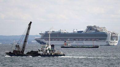 Photo of Ya son 64 personas las infectadas con coronavirus en el crucero japonés