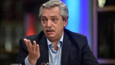 """Photo of Alberto Fernández: """"Me molesta que me digan que tengo presos políticos»"""