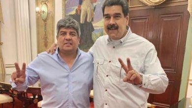 Photo of Un encuentro inesperado: Nicolás Maduro recibió a Pablo Moyano