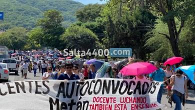 Photo of Salta en llamas: las movilizaciones de docentes no cesan