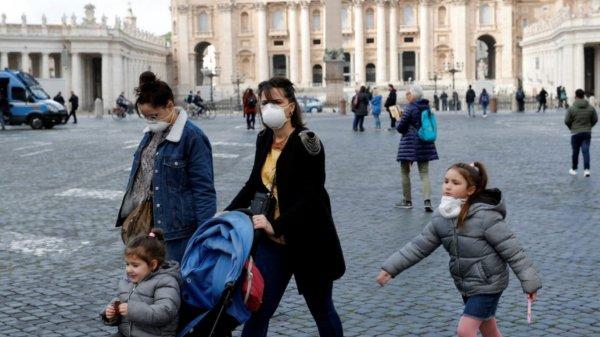 El Vaticano en crisis por el coronavirus.