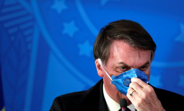 Jair Bolsonaro sigue realizando polémicas declaraciones sobre el coronavirus.
