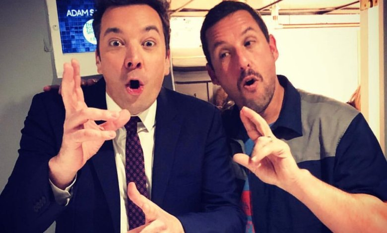 Jimmy Fallon y Adam Sandler