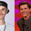 Justin Bieber y Tom Holland