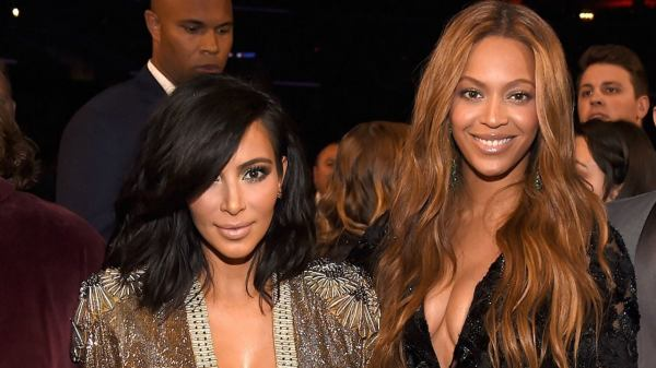 Kim Kardashian y Beyoncé