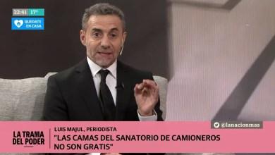Photo of Tras la denuncia, Luis Majul le contestó a Carla Castelo
