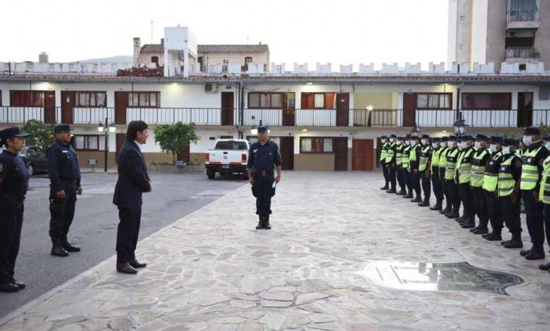 Policías afectados a operativos de seguridad