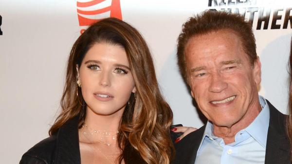 Arnold Schwarzenegger y su hija