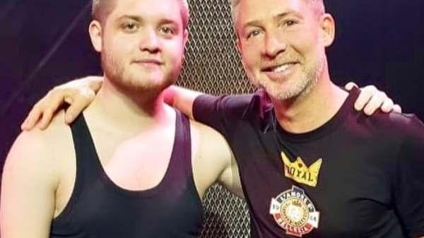 Toto Kirzner y Adrián Suar