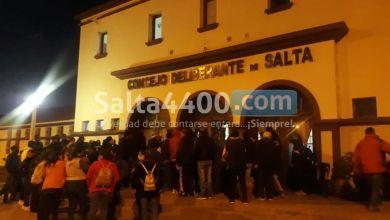 Photo of Protesta de trabajadores de tránsito en el Concejo Deliberante de Salta