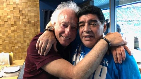 Diego Maradona Guillermo Coppola