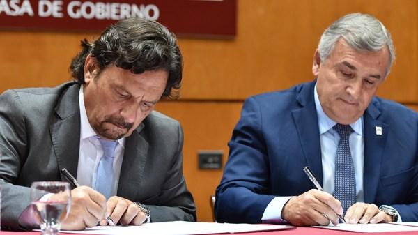 Gustavo Sáenz y Gerardo Morales