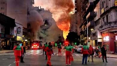 Photo of Incendio y explosiones en una perfumería: hay bomberos fallecidos