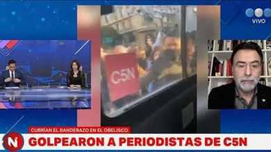 Photo of ¡La frenó! Cristina Pérez criticó a Alberto Fernández y un compañero suyo del noticiero la corrigió
