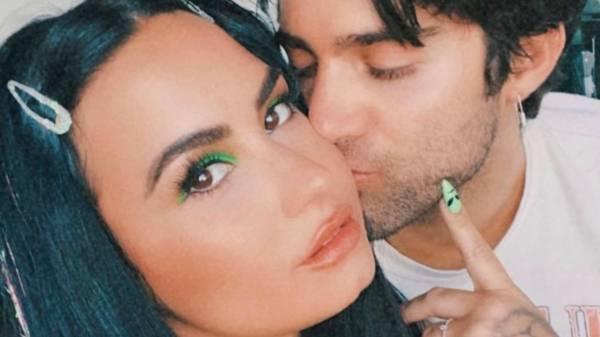 Demi Lovato y Max Enrich