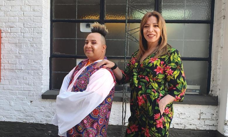 Floppy Cucu y Lizy Tagliani