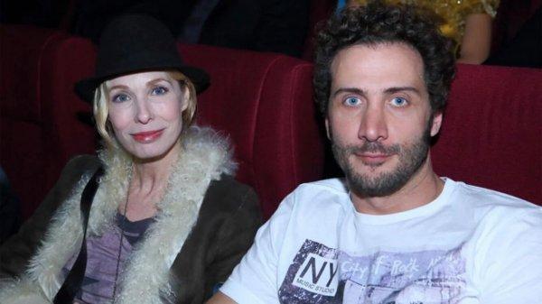 Gloria Carrá y Luciano Cáceres