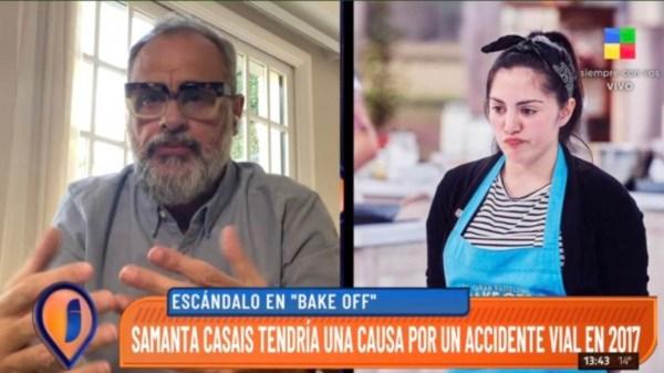 Jorge Rial y Samanta Casais