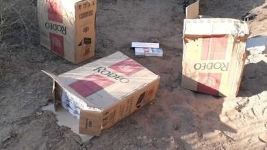 Photo of Decomisaron un enorme cargamento ilegal de cigarrillos en el Ruta 156