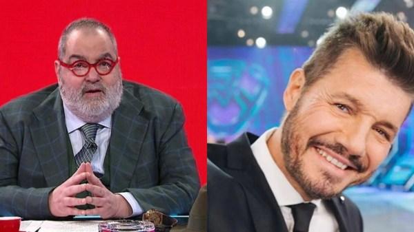 Jorge Lanata y Marcelo Tinelli