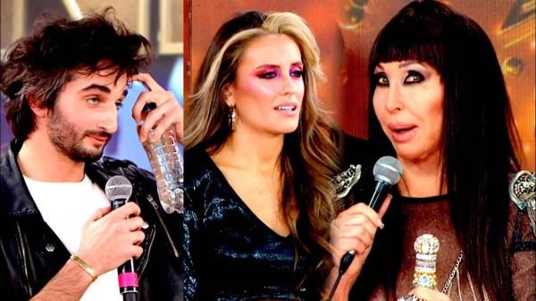 Juan Pérsico, Melina Lezcano y Moria Casán