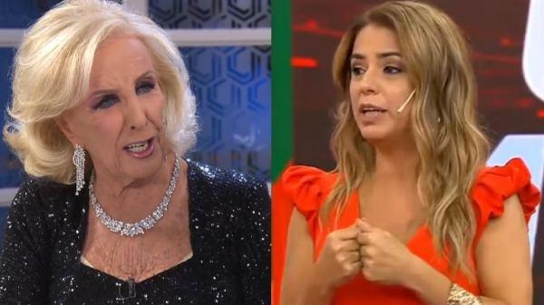 Mirtha Legrand y Marina Calabró