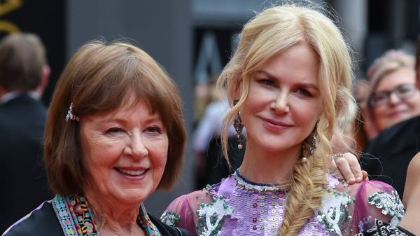 Nicole Kidman y su madre