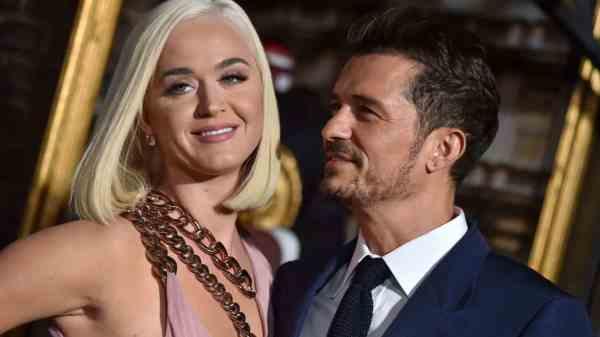 Katy Perry y Orlando Bloom 1