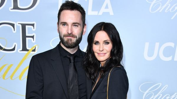 Courteney Cox y Johnny McDaid