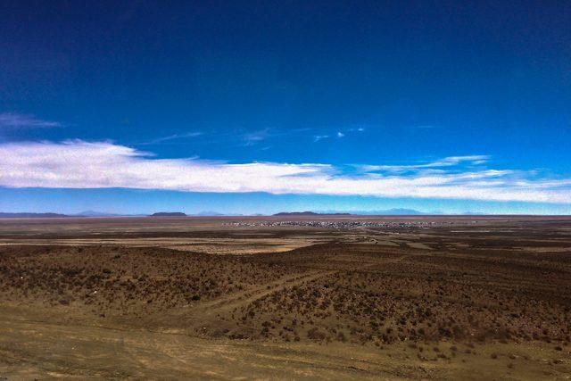 Camino Uyuni Desierto