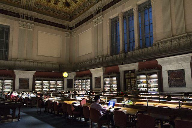 Biblioteca Nacional de España. Sala Lectura